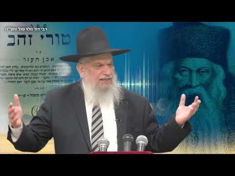 סיפורי צדיקים: רבי דוד הלוי סגל - הרב הרצל חודר HD