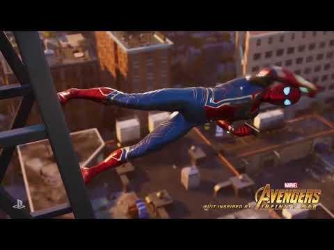 Разработчики Spider-Man официально представили костюм Железного Паука