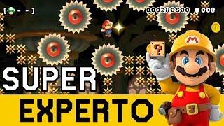 99% IMPOSIBLES ÉPICOS APARECEN!!! - SUPER EXPERTO NO SKIP | Super Mario Maker - ZetaSSJ