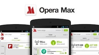 Opera Max Android App Review