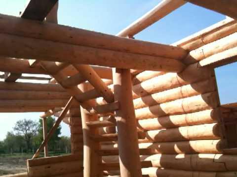 Drvena kuća konstrukcija - IZNUTRA
