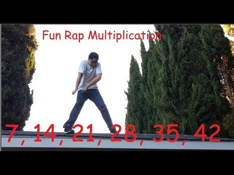 7 Times Table Song Rap: Learn Multiplication the FUN Way!
