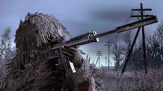 Call of Duty 4 Modern Warfare - All Ghillied Up Sniper Mission Veteran Gameplay