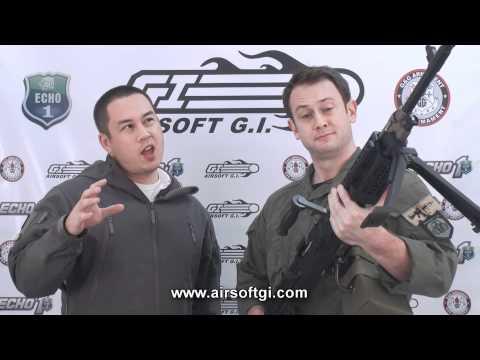 Airsoft GI - Echo1 M240 Bravo LMG Airsoft Gun Review