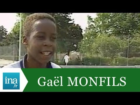Gaël Monfils 11 ans, futur champion - Archive INA