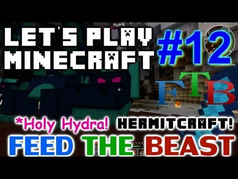Let's Play Minecraft Hermitcraft FTB Ep. 12 - Holy Hydra!
