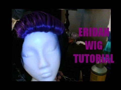 Eridan Ampora Wig Tutorial