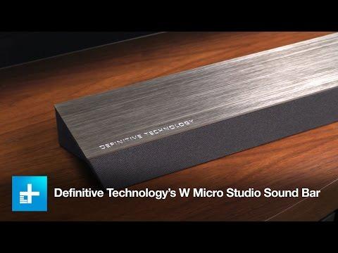 Definitive Technology's W Micro Studio Sound Bar