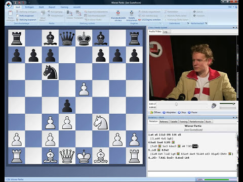 ChessBase Tutorials Band 1 Jan Gustafsson Wiener Partie