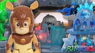PJ Masks Fortress Traps Romeo with Armadylan Toy