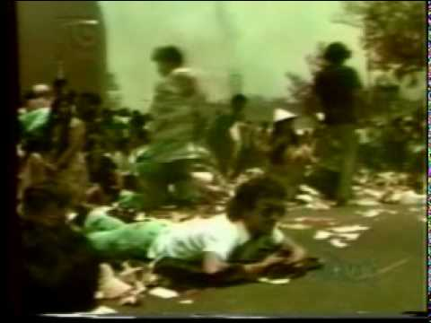 Massacre in El Salvador during Oscar Romero's funeral