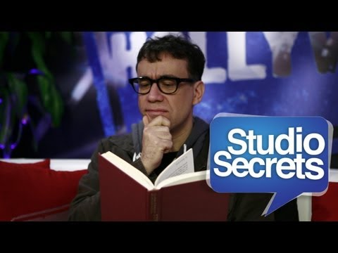 SNL's Fred Armisen on the Art of Crying On Camera - STUDIO SECRETS