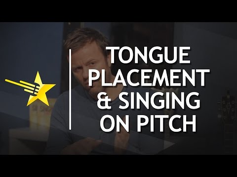 Singing Lessons / Tongue Placement / Singing On Pitch