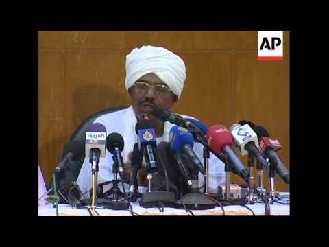 President Al-Bashir reiterates opposition to UN force in Darfur