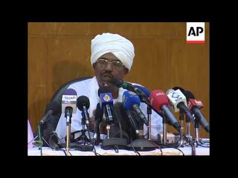President Al-Bashir reiterates opposition to UN force in Darfur