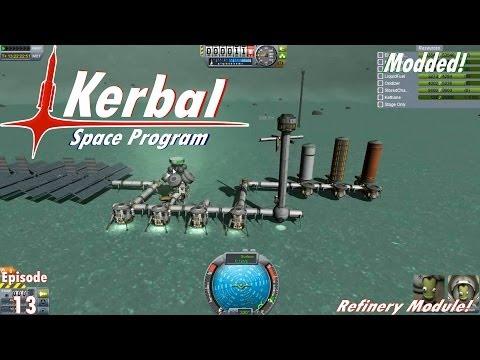 KSP Modded - Ep. 13 - Refinery Module!
