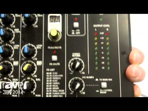 ISE 2014: RCF Features LIVEPAD Mixing Deck