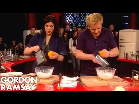 Cheesecake topping with Gordon Ramsay