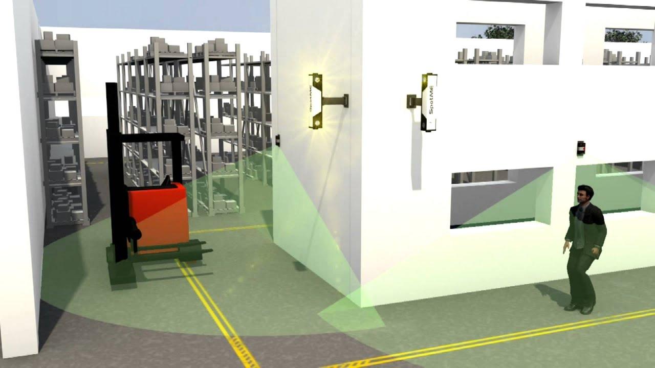 Toyota Spotme Warehouse Safety System Youtube