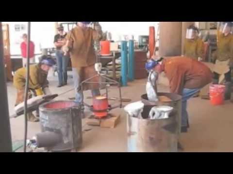 2012 Santa Fe Community College Bronze Pour