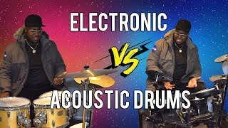 Electric vs Acoustic Drums (Pros and Cons) - Drumshack London