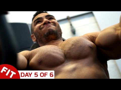CHEST & TRIS - JUSTIN ST PAUL WORKOUT, DAY 5 OF 6