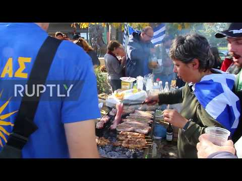 Greece: Anti-migrant pork-and-alcohol BBQ held near Diavata refugee camp