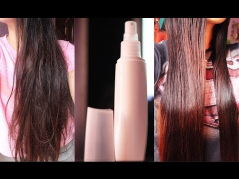 DIY Hair Detangler - Easily Remove the Knots in Your Hair