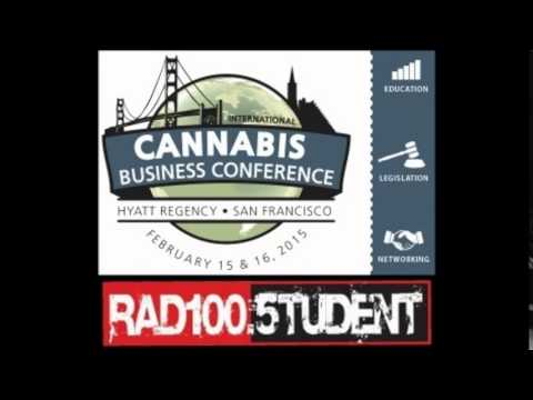 Alex Rogers - International Cannabis Business Conference @ Radio Student, Croatia