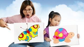 Tô Màu Con Rùa Và Con Bướm ❤ SUBI TV ❤