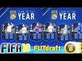 FIFA 18 FUT DRAFT TOTY KARTLARI BAŞLADI! | RONALDO-MESSI-KANE
