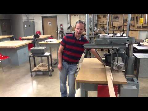 Radial Arm Saw Operation Review