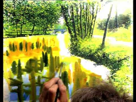 Water in Watercolor with Joe Francis Dowden