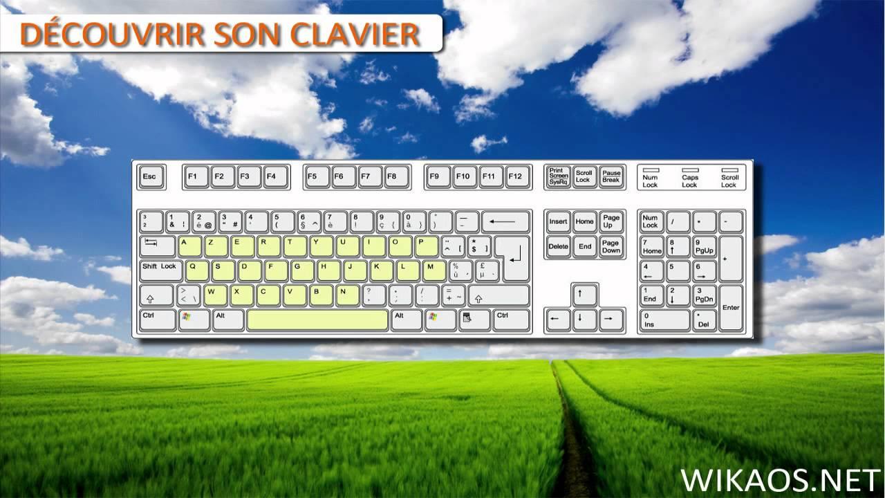 apprendre les bases d 39 un clavier d 39 ordinateur youtube. Black Bedroom Furniture Sets. Home Design Ideas