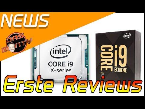 ERSTE REVIEWS mit Benchmarks zum Intel Core i9 7900X |  Skylake X | Das Monty - Deutsch