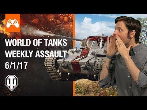 World of Tanks Weekly Assault #6