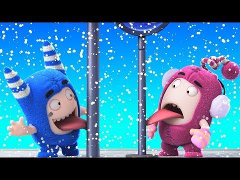 Oddbods | SNOW FUN - CHRISTMAS SPECIAL | Funny Cartoons For Children  | Oddbods & Friends