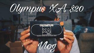 My Film Came in! + Camera Hunting (Olympus XA) $20 VLOG