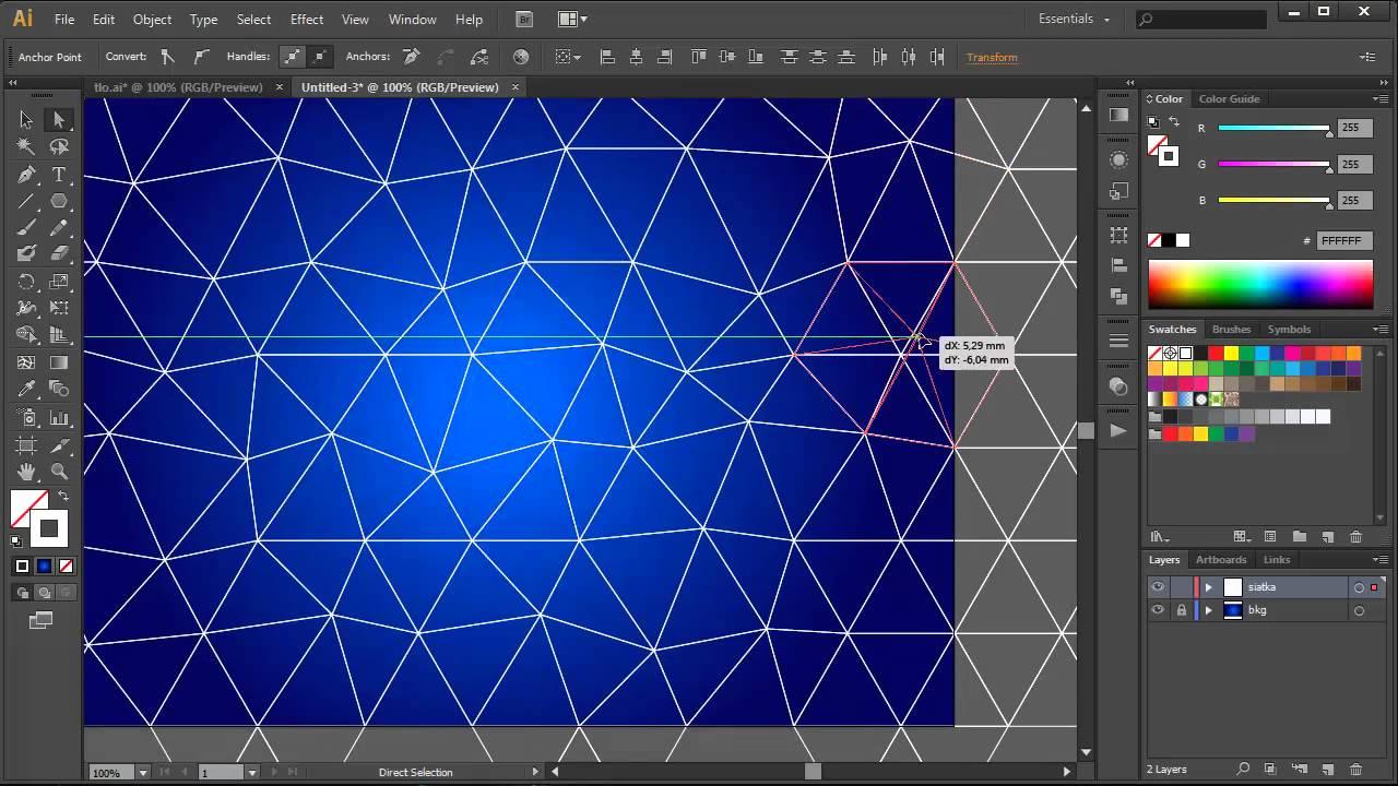 Adobe Illustrator - Tutorial 31 - jak zrobić background ...