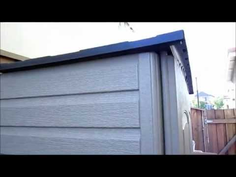 Review of the Rubbermaid storage shed