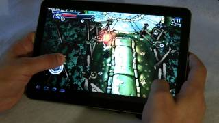 Galaxy Tab 10.1v test multimedia and Games