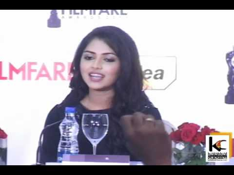Amala Paul at 59th Filmfare Awards Press Conference