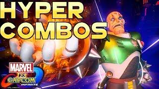 Marvel vs Capcom Infinite: Hyper Combos HD