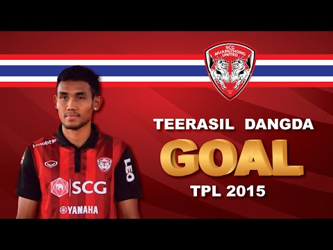 Teerasil Dangda(ธีรศิลป์ แดงดา) Forward | Goal | TPL2015