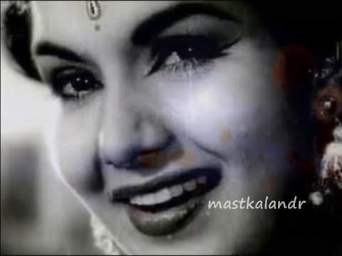 Kaisi Khushi Le Ke Aaya Chand Eid Ka..lata sahir roshan barsat Ki Raat1960..a Tribute video