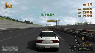 Gran Turismo 3 A-Spec PS2 | Test Course | Nissan 200SX Type-X '96