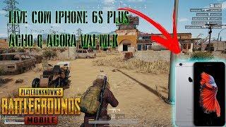PUBG MOBILE- IPHONE 6S PLUS AO VIVO