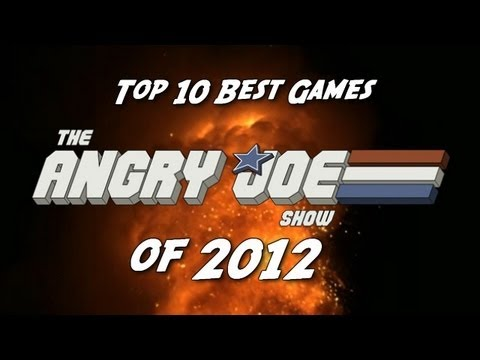 Top 10 BEST Games of 2012!