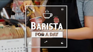 Barista for a Day | Joyce Pring TV