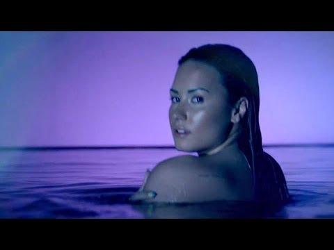 "Demi Lovato Nude ""Neon Lights"" Rave Music Video!"